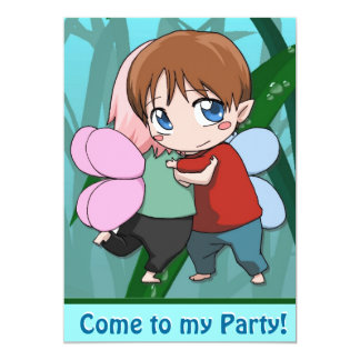 Fairy Invitation - Fairy lovers