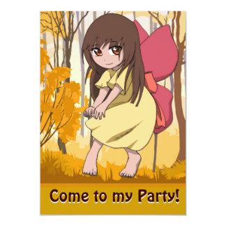 Fairy Invitation - I'm a bit shy