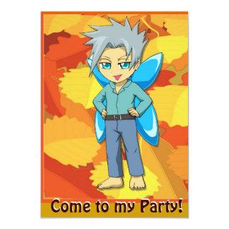 Fairy Invitation - Tough boy fairy