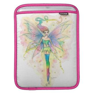 Fairy iPad Sleeve Colorful Rainbow Fairy