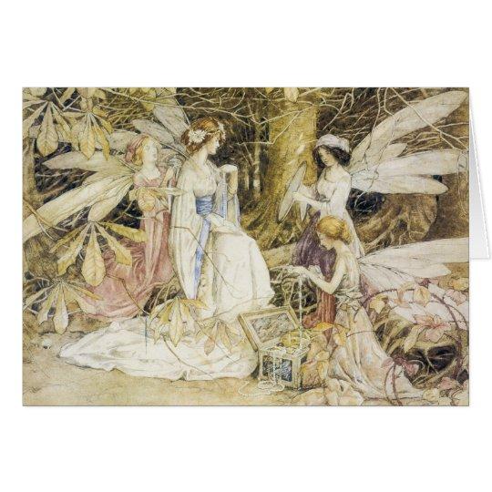 Fairy Jewels Greeting Card