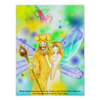 Fairy King and Queen Posters