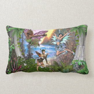 Fairy kingdom lumbar pillow