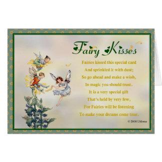 Fairy Kisses Greeting Card
