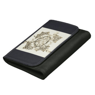 fairy lace garden designs leather wallets