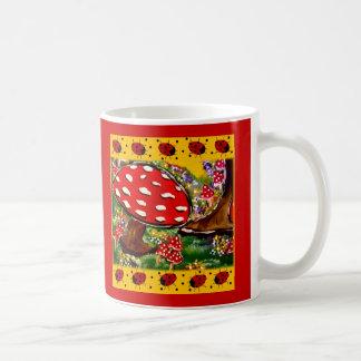 Fairy Lady Bugs Coffee Mug