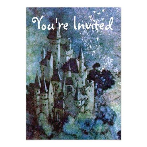 Fairy Land Castle Invitation