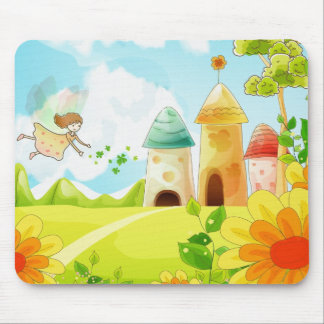 fairy land mouse pad