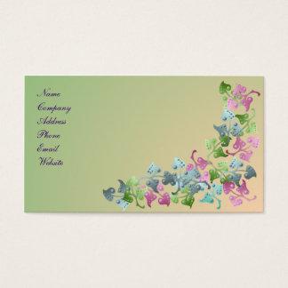 Fairy Leaf Pattern Business Card