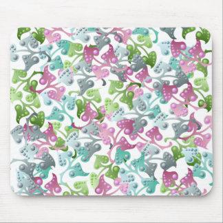 Fairy Leaf Pattern Mousepad