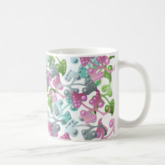 Fairy Leaf Pattern Mug