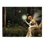 Fairy light ball Postcard