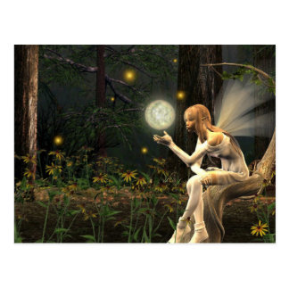 Fairy light ball Postcard