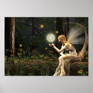 Fairy Light Ball Poster
