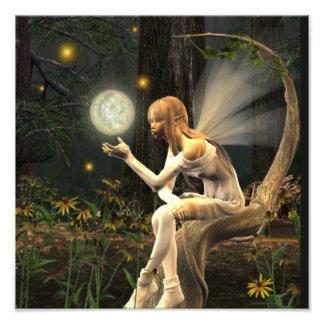 Fairy Light ball print Photo