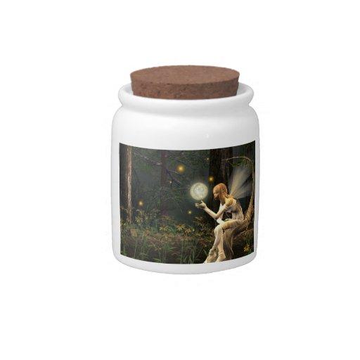 fairy lightball candy jar