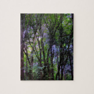 Fairy Lights Surreal Forest Puzzle