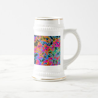 FAIRY-LIKE MULTICOLOR/BLANC HYDRANGEA BB CATCHES BEER STEIN