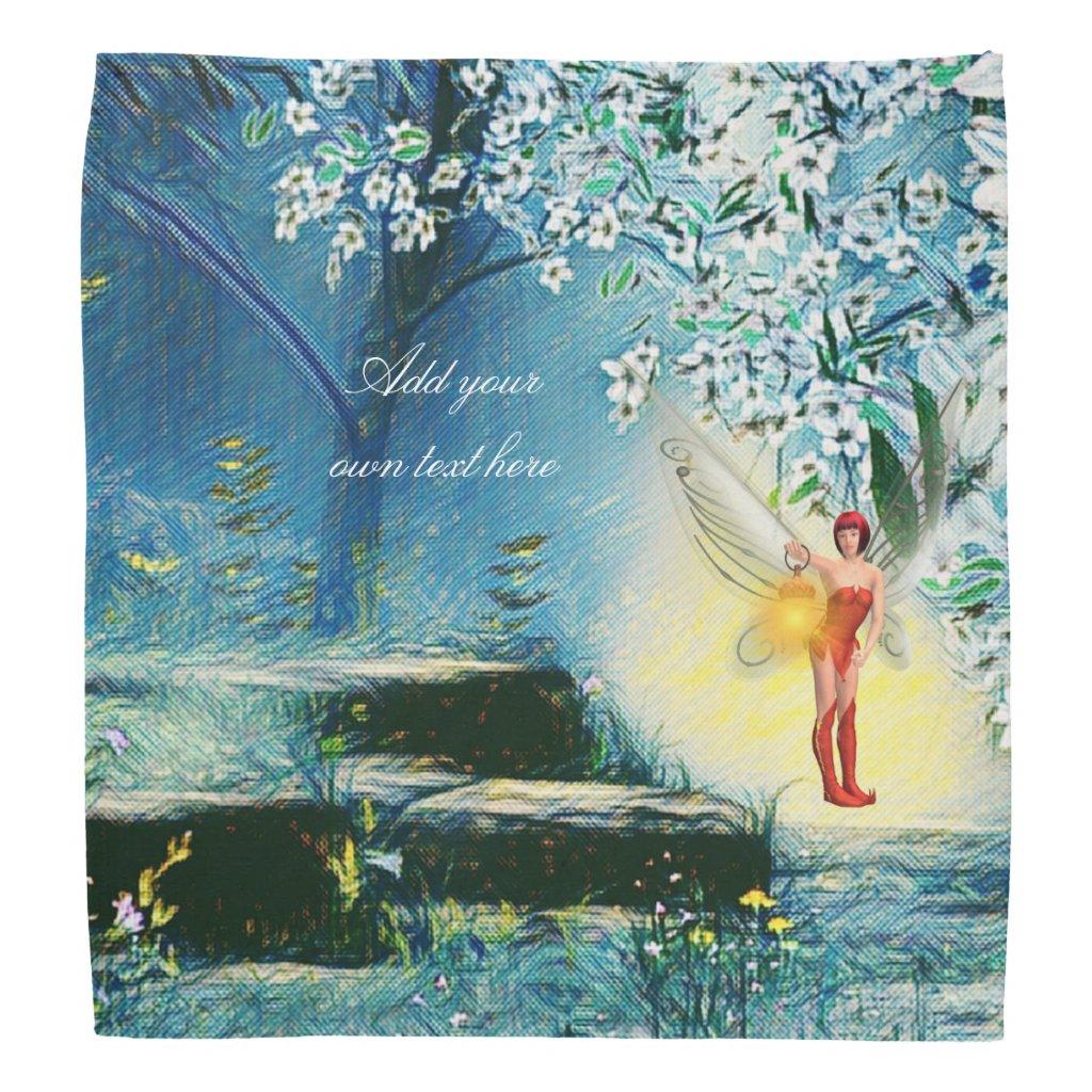 Fairy lit bandana