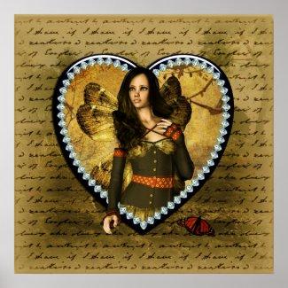 Fairy Love Story print