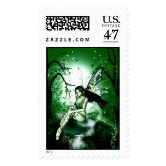Fairy Magic Green Stamp