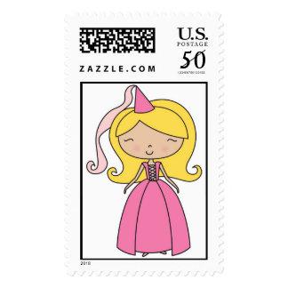 Fairy Maiden Princess Stamp