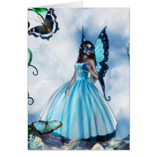 Fairy Masquerade Ball Greeting Card