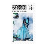 Fairy Masquerade Ball Stamp