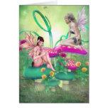 Fairy Meeting Greeting Card