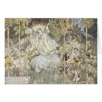 Fairy Midsummer Night's Dream 1907 Greeting Cards
