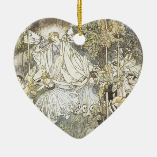 Fairy Midsummer Night's Dream 1907 Christmas Ornament
