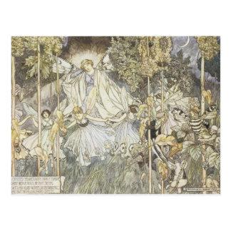 Fairy Midsummer Night's Dream 1907 Postcard