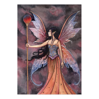 Fairy Mini Thank You Card by Molly Harrison Large Business Cards (Pack Of 100)