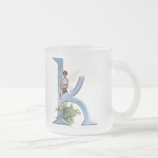 Fairy Monogram K Coffee Mug
