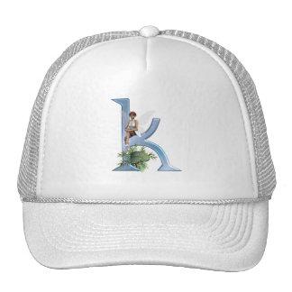 Fairy Monogram K Hats