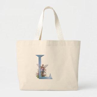 Fairy Monogram L Large Tote Bag