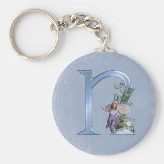 Fairy Monogram N Keychain