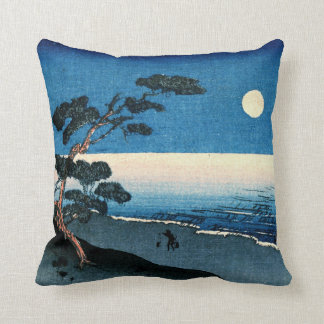Fairy Moon and Lonely Shore 1915 Throw Pillow