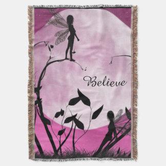 Fairy moon Blanket throw