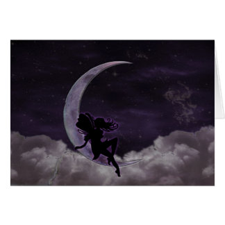 Fairy Moon Card