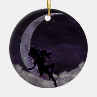 Fairy Moon Christmas Tree Ornaments