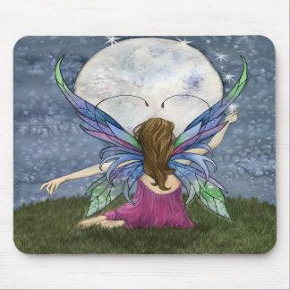 Fairy Moon Dust Mouse Pad