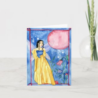 Fairy Moon Magic Greeting Card