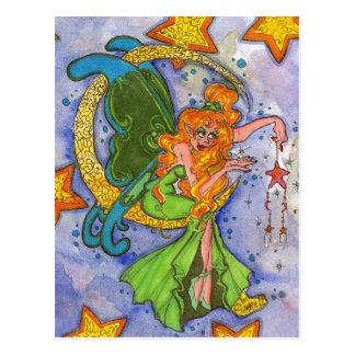 Fairy Moon Magic Postcard