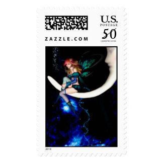 Fairy Moon Postage