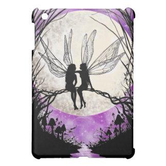 Fairy Moon Silhouette iPad Case - Twilight