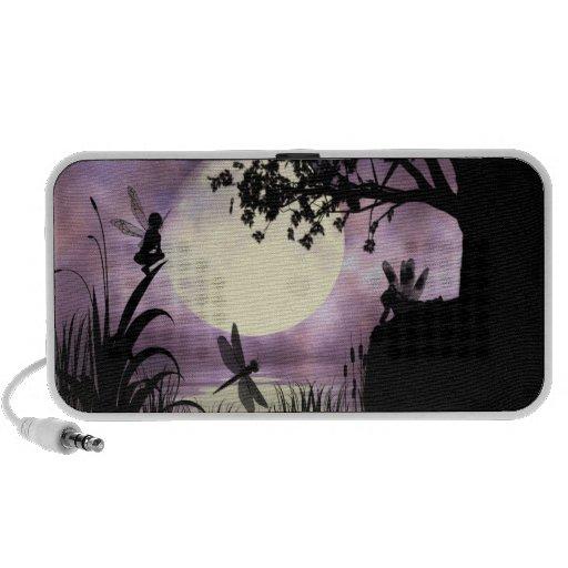 Fairy moonlit pond speaker