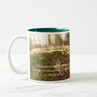 Fairy Mound Two-Tone Coffee Mug