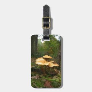 Fairy Mushroom Ring Tag For Luggage