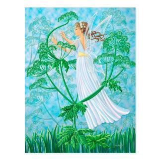 Fairy Music Postcard